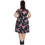 Bloomsbury Dress  - Hell Bunny- Plus Size - Sour Cherry Designs - Plus Sized Pin Up