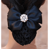 Hair Snood with Bow- various colours - Plus Size Pin Up - Sour Cherry Designs - Plus Sized Pin Up - Plus Size Pin Up