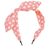 Headband Pre Tied Narrow - Various Colours and Patterns - Sour Cherry Designs - Plus Sized Pin Up