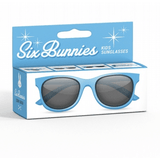 Kids Six Bunnies  Sunglasses - Blue Wayfarer - Plus Size Pin Up - Sour Cherry Designs - Plus Sized Pin Up