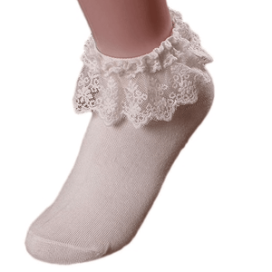 Lace Top Socks - Various Colours  - Plus Size Pin Up - Sour Cherry Designs - Plus Sized Pin Up | Lace Top Socks - Various Colours  - Plus Size Pin Up