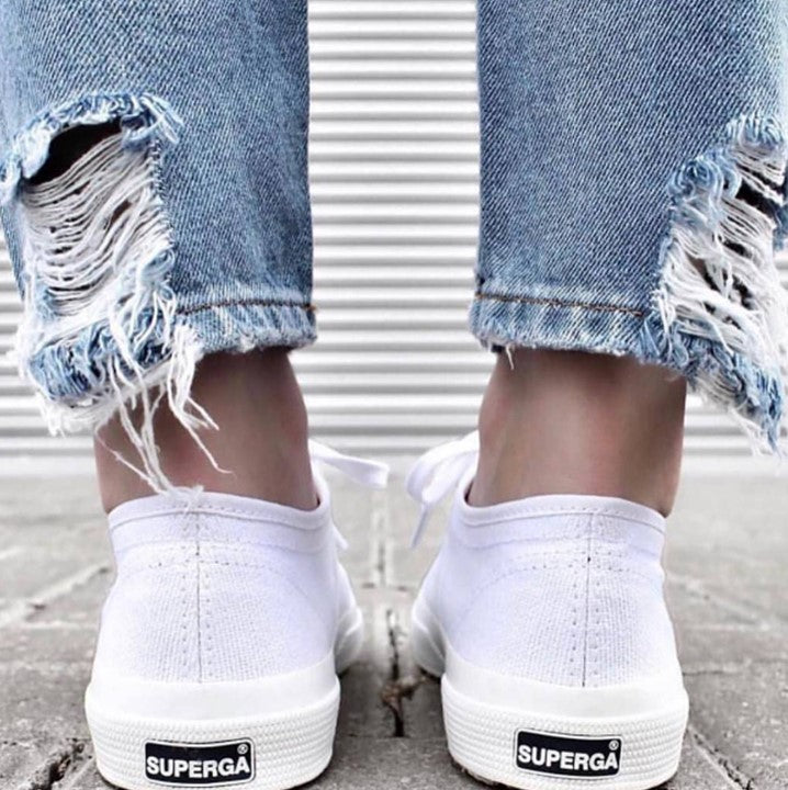 This Month's Staple: Superga.