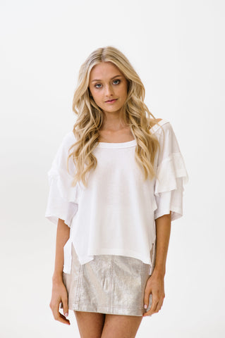 Sunset Top White