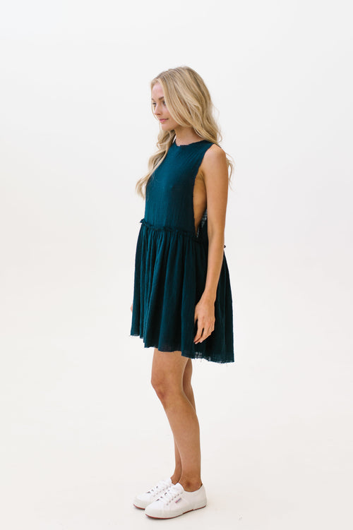 Ophelia Dress Midnight Navy