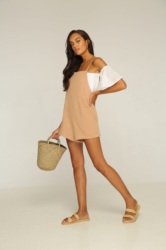 Hugo Romper - Dusty Pink