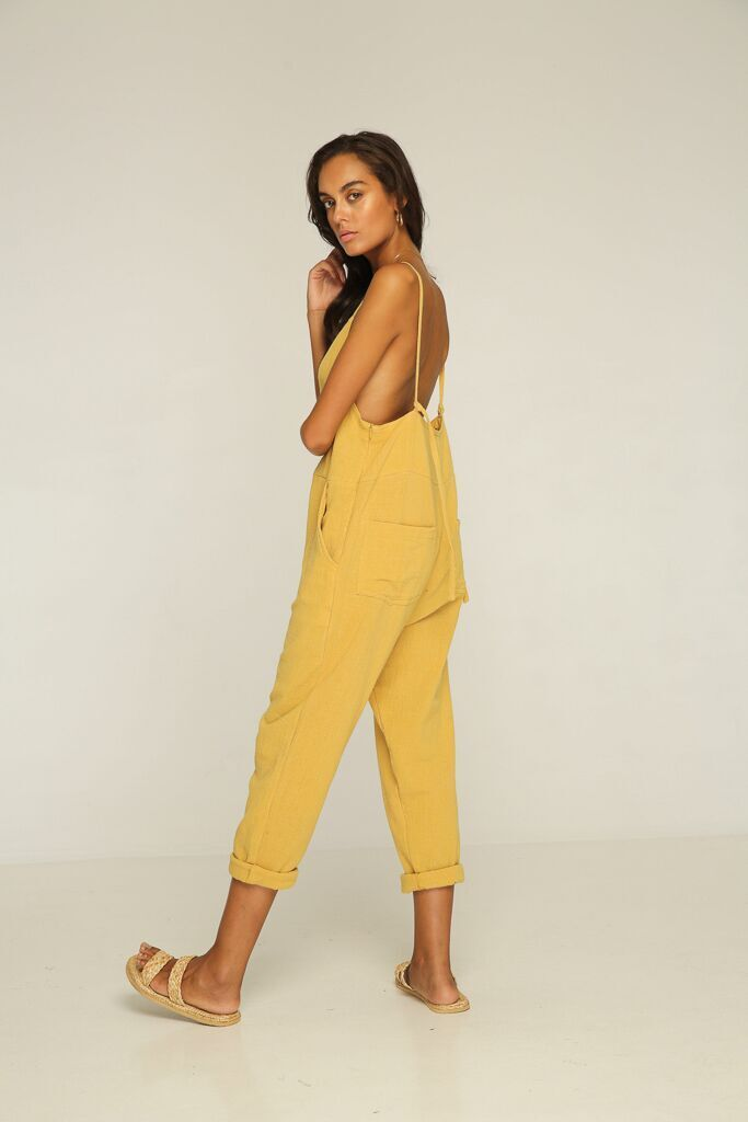 Miko Overall - Yellow