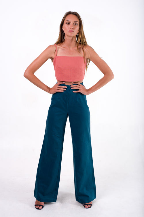 Sierra High Waist Wide Leg Pants