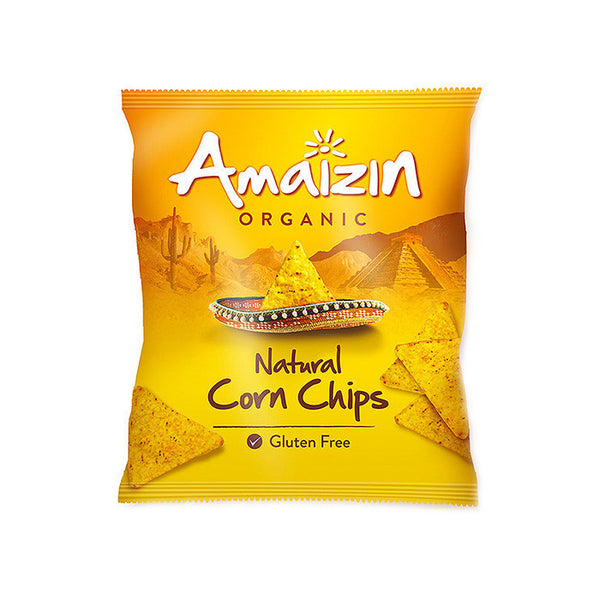 gluten free organic natural corn chips by amaizin
