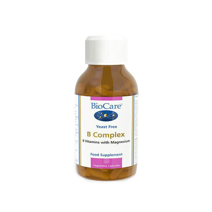 biocare yeast free vitamin B complex with vitamins with magnesium