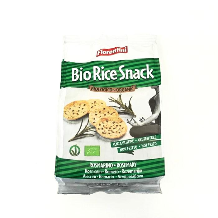 rosemary flavoured bio rice snack by fiorentini