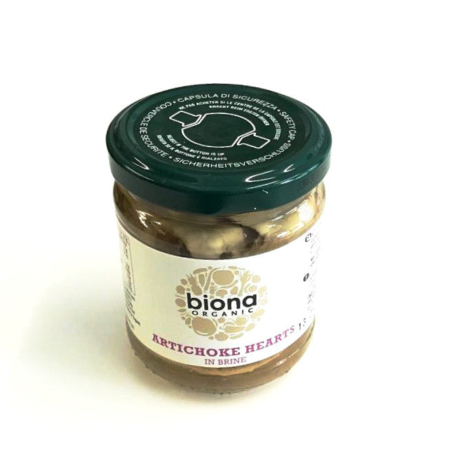 artichoke hearts in brine by biona organic