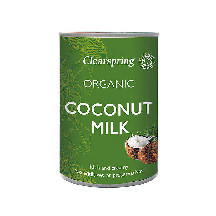 organic coconut milk by clearspring