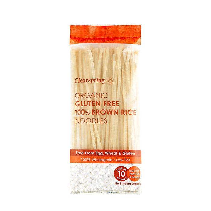 gluten free organic brown rice noodles which are 100% by clearspring