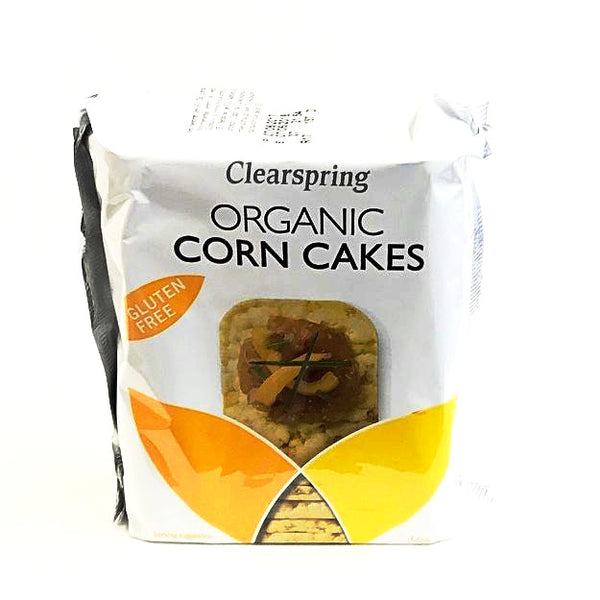 corn cakes which are organic and by clearspring