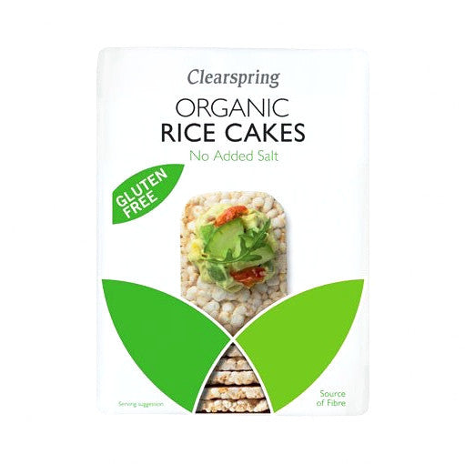 organic rice cakes by clear spring and sold at shorebeing natural foods