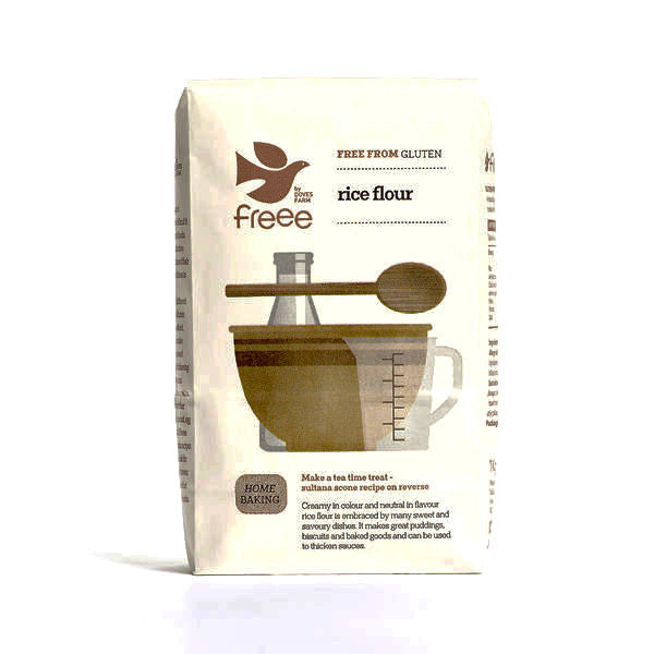 doves farm organic rice flour