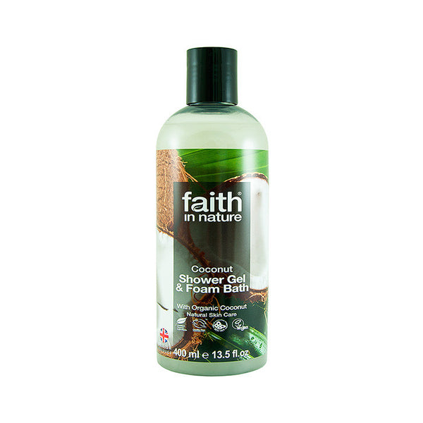 faith in nature coconut shower gel