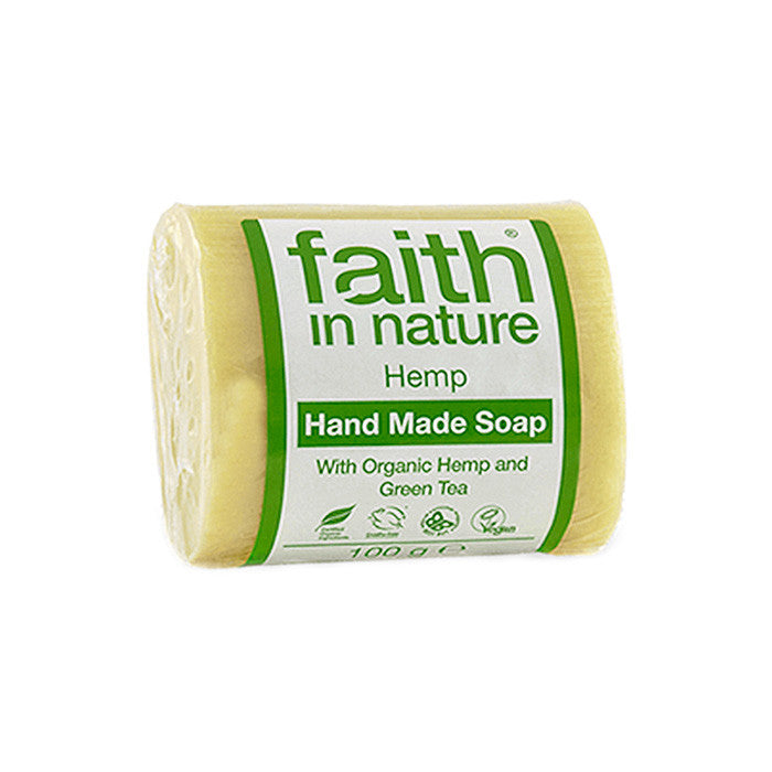 hemp fragrance hand made soap made by faith in nature