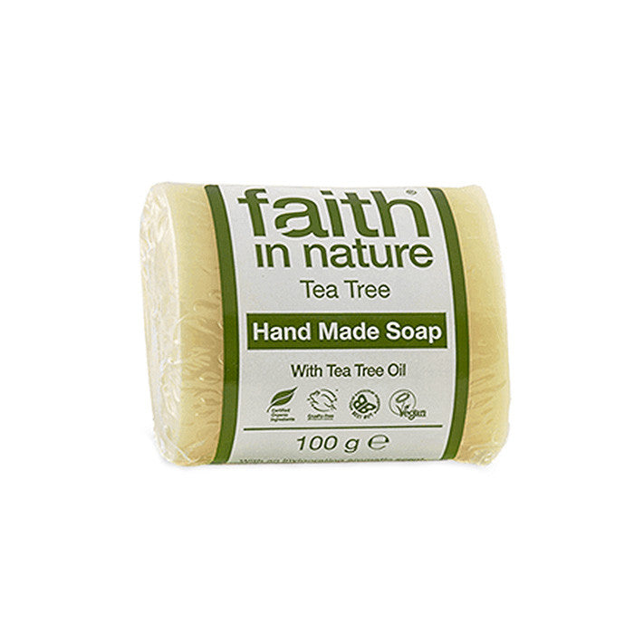 tea tree fragranced hand soap made by faith in nature