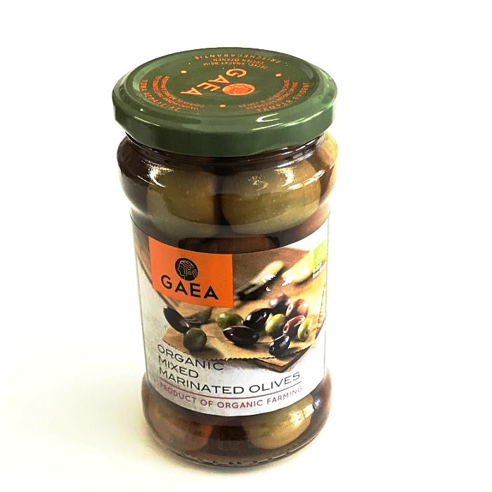 organic mixed marinated olives by GAEA