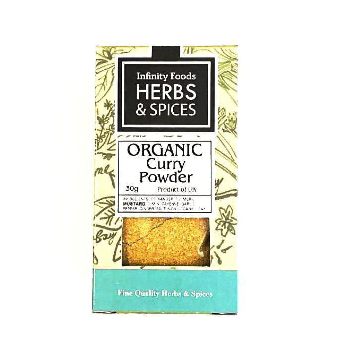 organic curry powder by infinity foods