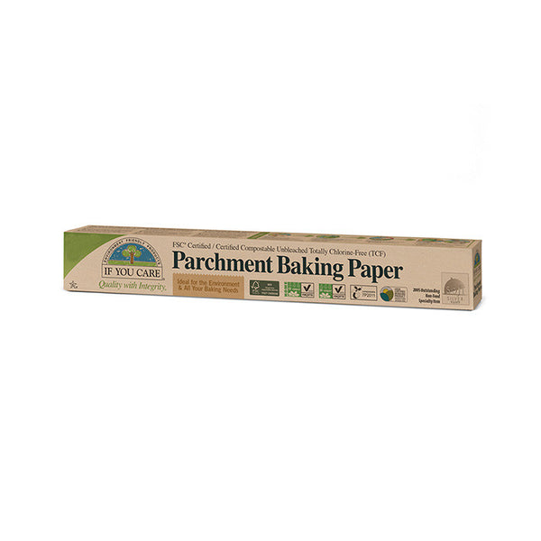 parchment baking paper by if you care which is 100% recycled