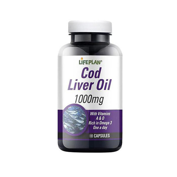 cod liver oil by life plan with vitamins a and d