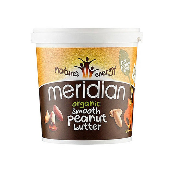 organic smooth peanut butter by meridian foods