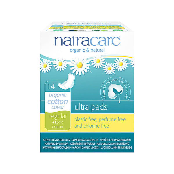 natracare organic and natural ultra pads