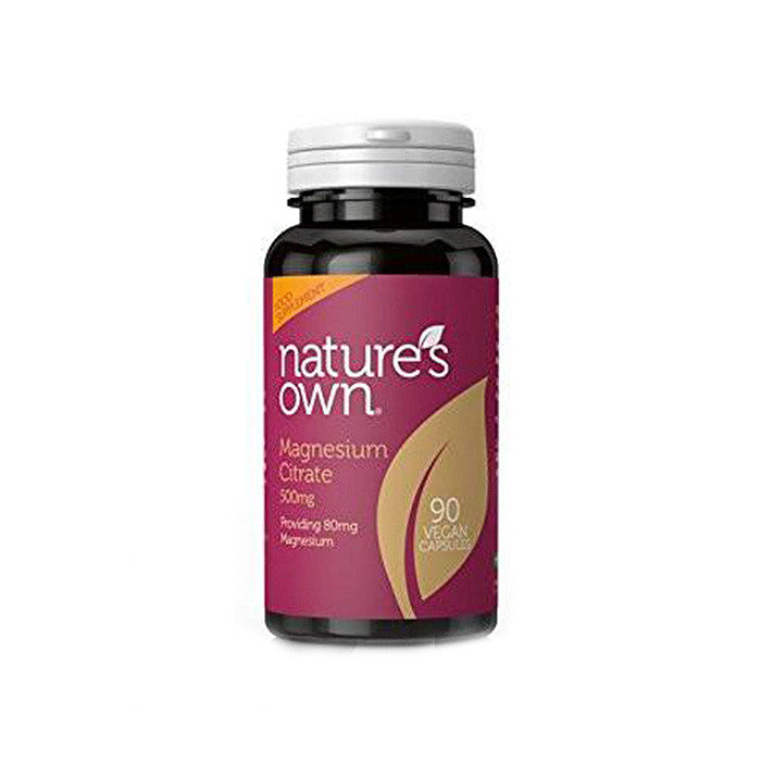 magnesium citrate 90 vegan capsules by natures own