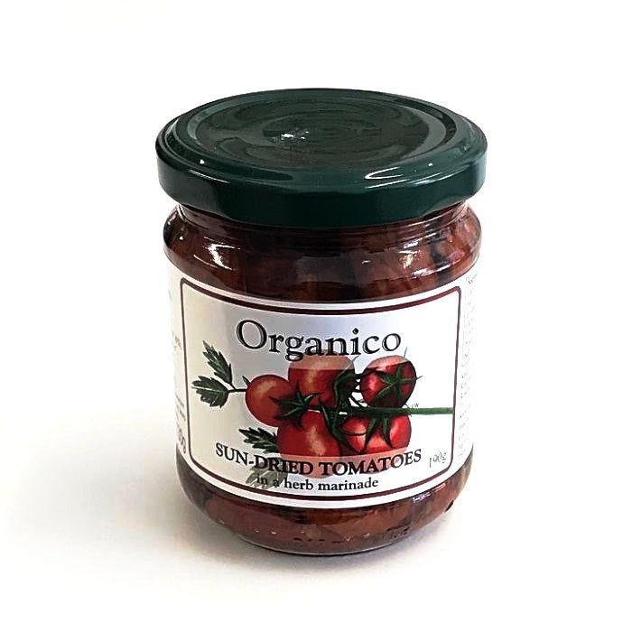 sun-dried tomatoes made by organico