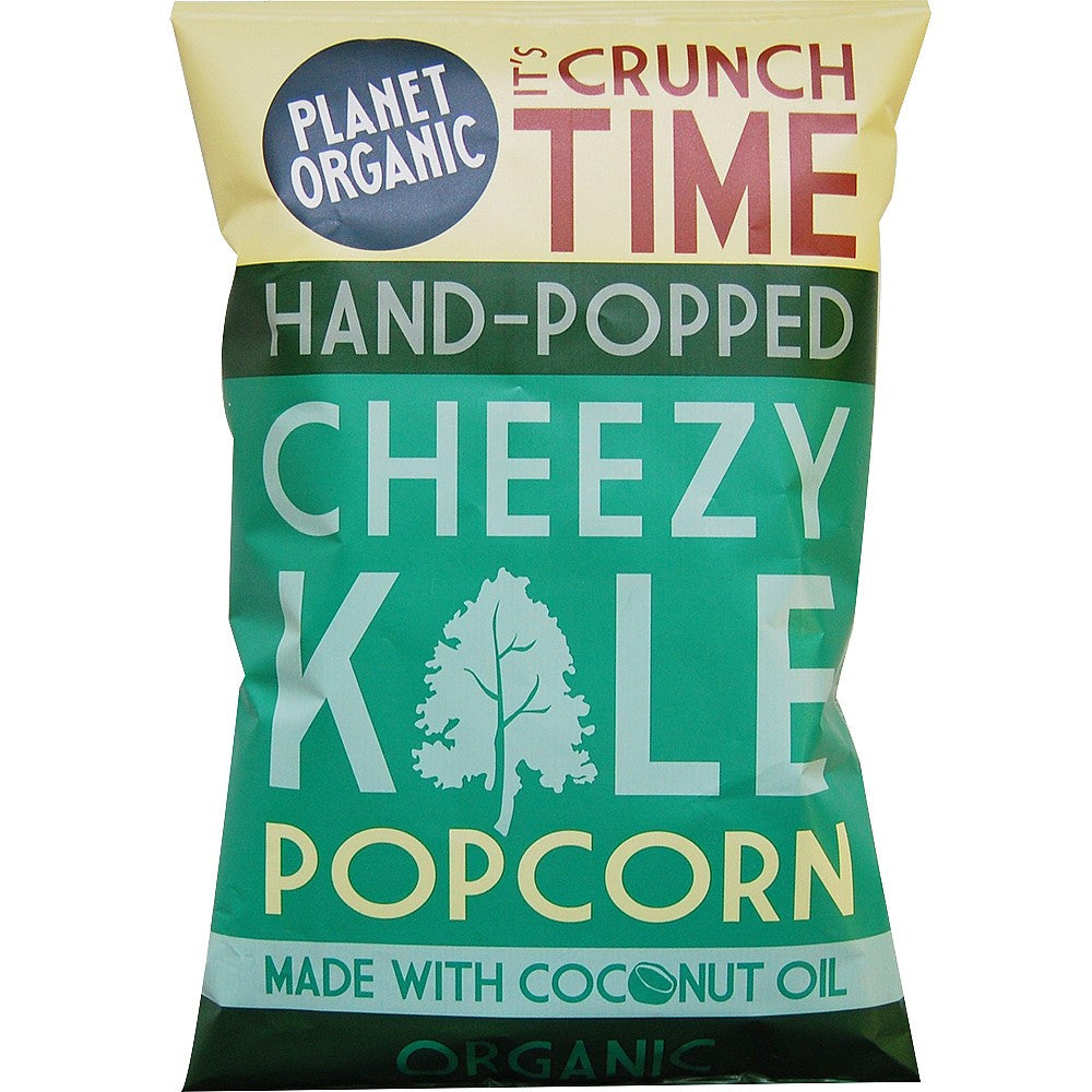 planet organic cheese kale popcorn and made with coconut oil