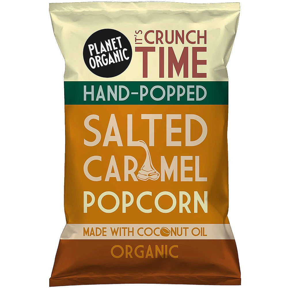 salted caramel popcorn by planet organic