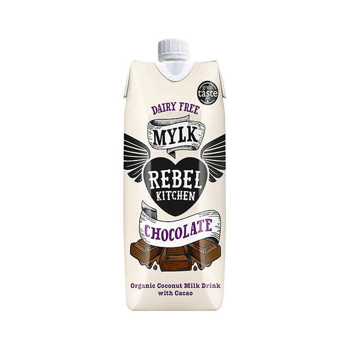 chocolate dairy free milk by rebel kitchen