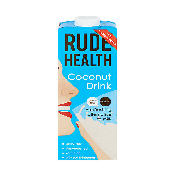 coconut flavoured drink which is dairy free and organic by rude health