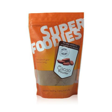 super foodies organic cacao powder 250 grams