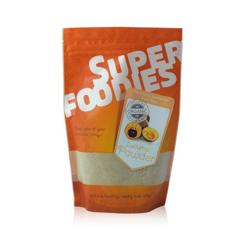 lucuma powder by super foodies and available at shorebeing in worthing