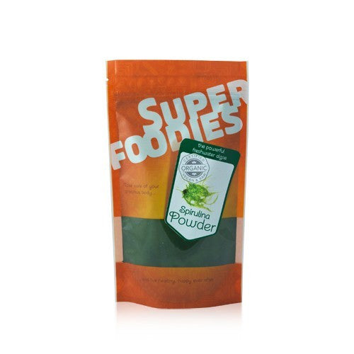 super foodies spirulina powder sold at shorebeing in worthing