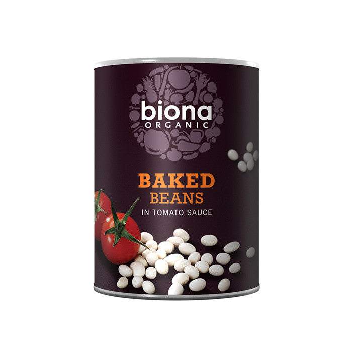 baked beans by biona organic in tomato sauce