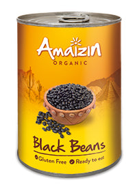 organic black beans by amaizin which are gluten free