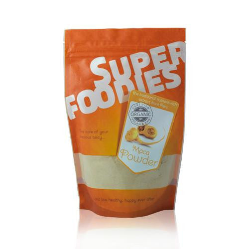 a maca powder which is organic and made by super foodies