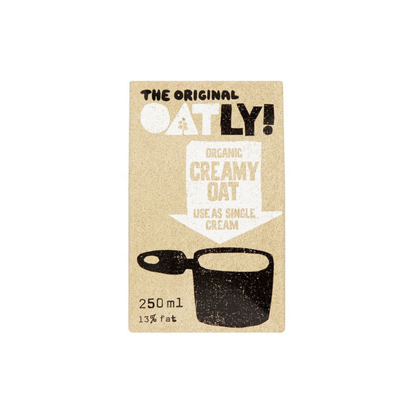 creamed oat by Oatly and available at shore being in worthing