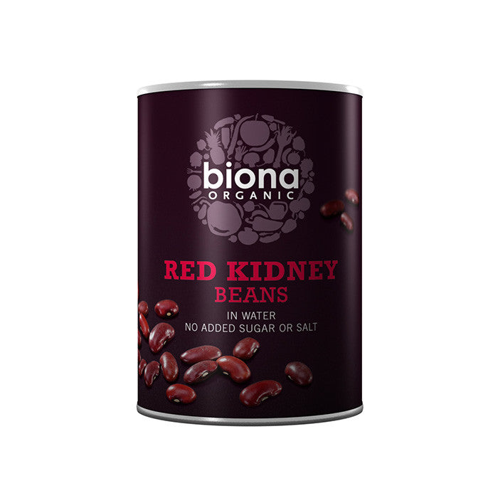 red kidney beans in water by Biona