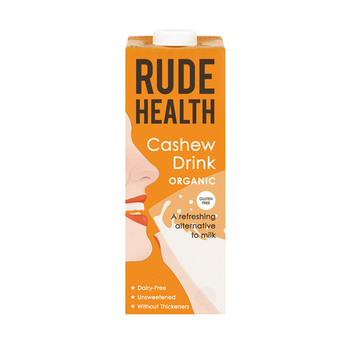 a cashew flavoured alternative to milk drink by rude health
