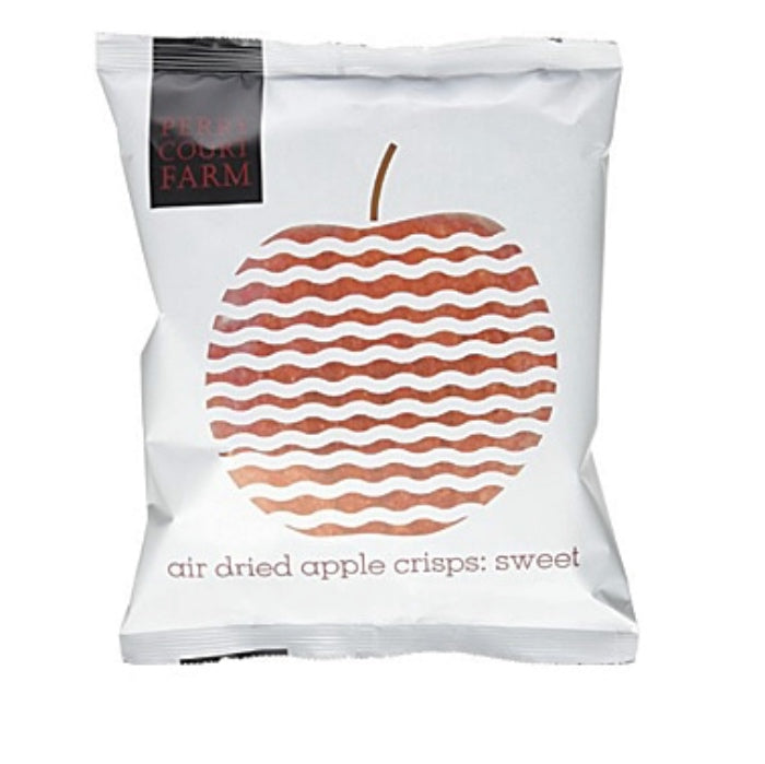 sweet apple air dried crisps by Perry court farm