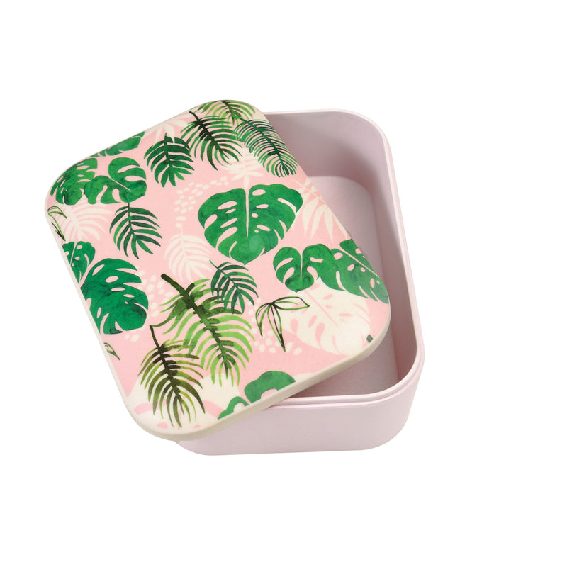 Tropical Palm Bamboo Lunch Box
