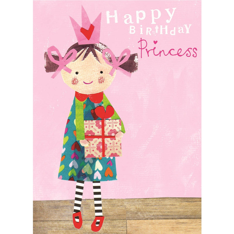 Happy Birthday Princess Birthday Card