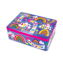 Sparkly Rainbow Tin