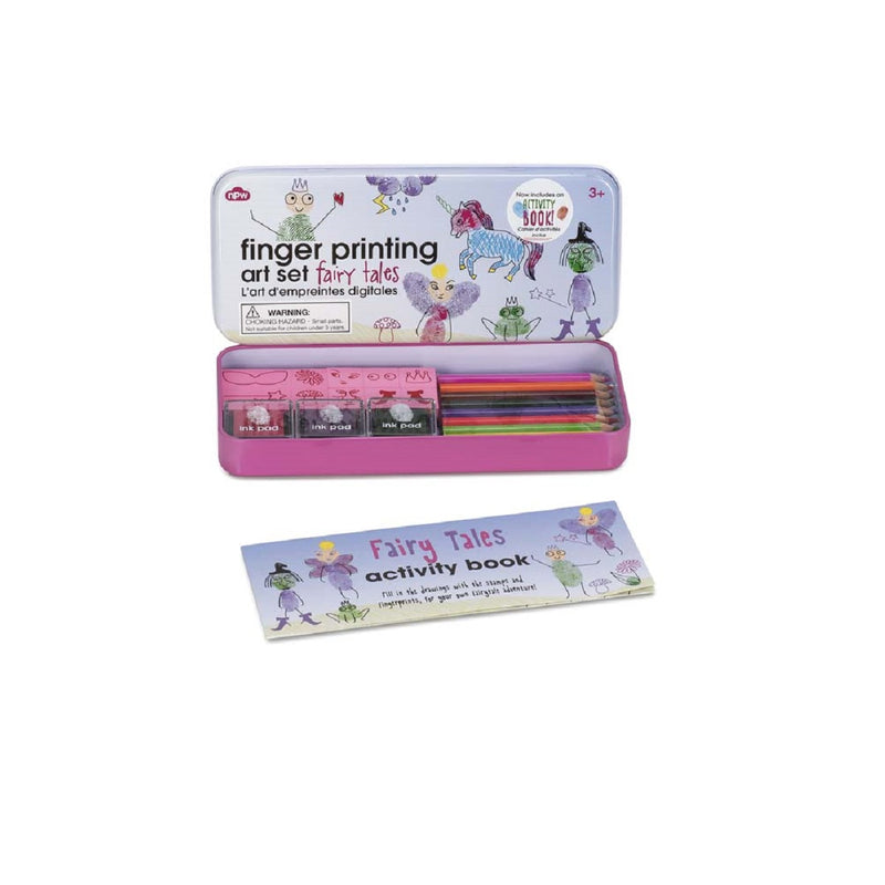 Fairy Tales Finger Printing Art Set