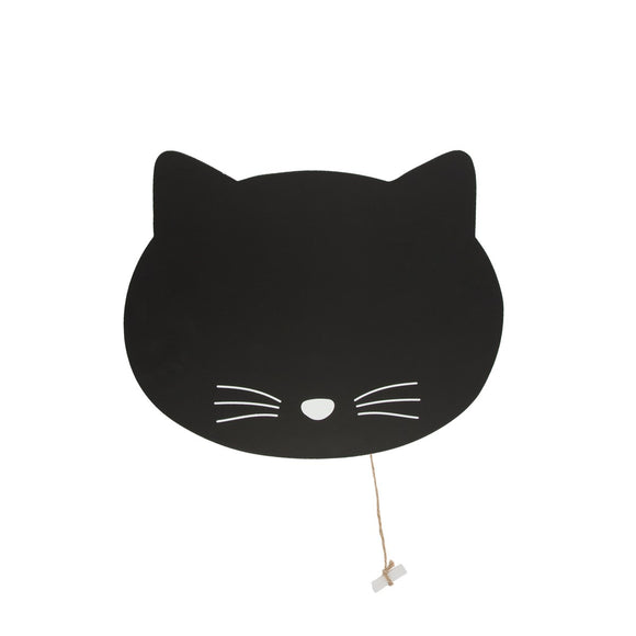 Black Cat Chalk Board